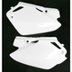 White Side Panels/Rear Number Plates - 2043280002