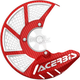 Red/White X-Brake 2.0 Vented Front Disc Cover - 2449490004