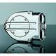 Hypercharger Blood Groove Design Air Cleaner w/Chrome Butterflies - 9873