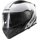 White/Gray/Black Metro Rapid Modular Helmet