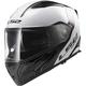 White/Gray/Black Metro Rapid Modular Helmet