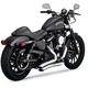 Chrome Big Radius 2-into-2 Exhaust System - 26067
