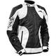 Women's White/Black Prism Jacket