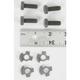 Parkerized Front Fender Mounting Hardware Kit - 2290-8