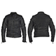 Women's Black Jazz Leather Jacket