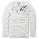 White Buckshot Thermal Long Sleeve Shirt