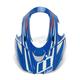 Blue/White Visor for Icon Variant Glory Raiden Helmet - 0132-0923