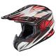 White/Black/Red Factor RPHA-X Helmet