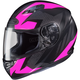Flat Black/Pink MC-8F CS-R3 Treague Helmet