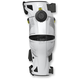 White/Acid Yellow X8 Knee Brace