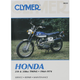 Honda Repair Manual - M322