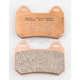 Double-H Sintered Metal Brake Pads - FA304HH