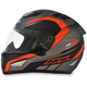 Frost Gray/Safety Orange FX-95 Airstrike Helmet
