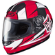 Youth Red/White/Black CL-Y  MC-1 Striker Helmet