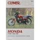 Honda Repair Manual - M344