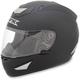Flat Black FX-95 Helmet