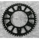 Black Anodized Rear Works Triplestar Aluminum Sprocket - 5-355949BK