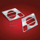 Chrome Front Speaker Grilles - 2482