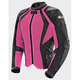 Women's Pink/Black Cleo Elite Textile Mesh Jacket
