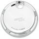 Chrome Beveled Fuel Door - 04-160