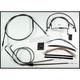Black Pearl Designer Series Handlebar Installation Kit for Use w/12 in. - 14 in. Ape Hangers - 487281
