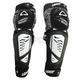 Youth Black/White 3DF Hybrid EXT Knee and Shin Guards - 5015400660
