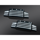 Black/Silver Bahn Valve Cover Accents - 7636