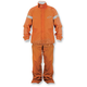 Orange Quick Seal Out Rain Jacket and Pants