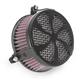 Black Swept Air Cleaner - 06-0270-01B
