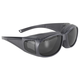 Defender Over Eyeglasses Sunglasses w/Smoke Lens - 5500