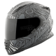 Black/Gray Black Heart SS1310 Helmet