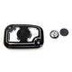 Contrast Cut Cafe Clutch Master Cylinder Cover - 0208-2116-BM