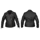 Women's Black Sheba Leather Jacket