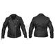 Women's Black Sheba Leather Jacket
