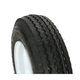 K371 6-Ply 4.80/4.00-8 Tire W/4-Hole Solid Wheel Assembly - 30040