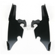 Night Shades Black No-Tool Trigger-Lock Hardware Kit to Change from Sportshield to Fats/Slim - Plates Only - MEB8881