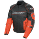 Black/Orange Resistor Mesh Jacket