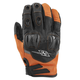 Orange/Black Power and The Glory Mesh Gloves