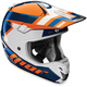 Orange/Navy Verge Scendit Helmet