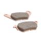 Rear Double H Sintered Metal Brake Pads - FA662HH