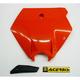 Front KTM Orange Number Plate - 2070930237