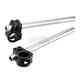Matte Black/Aluminum 7 Degree 36mm Clip-On 7/8 in. Bars - 09-390-36B