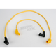 8mm Yellow Plug Wires - 20436