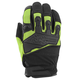Green/Black Hammer Down Mesh Gloves