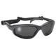 Black Freedom Sunglasses w/Smoke Lens - 4310