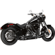 Black F Bomb 2-Into-1 Exhaust System - 7213002