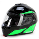 Green/Black/Gray IS-MAX II MC-4 Elemental Modular Helmet