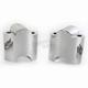 Polished 1 1/2 in. Handlebar Riser Extensions - LA-7432-01