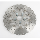 Rear Stainless Steel Custom Rotors/ 10-Button Floating Contour - RSD017C
