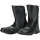 Black Solution Waterproof Air Boots - Wide Width